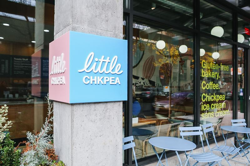 COURTESY: LITTLE CHICKPEA - Chickpea-based dessert company Little Bean has rebranded as Little Chickpea after legal pressure from Gerber which had a snack called lil' Beanies. The scoop shop in the Pearl District now goes by the name Little Chkpea.
