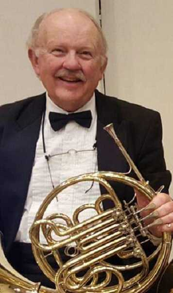 COURTESY OF BILL KUYPER - From 1969 through 2007, Bill Kuyper played with the New York Philharmonic Orchestra where he was assistant principal hornist.