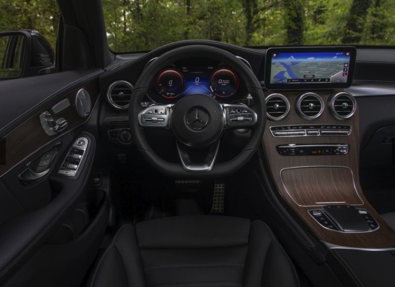 COURTESY MERCEDES-BENZ USA - Luxury is a trademark of Mercedes-Benz and the 2020 GLC 300 4MATIC SUV is a good example of the company's high standards.