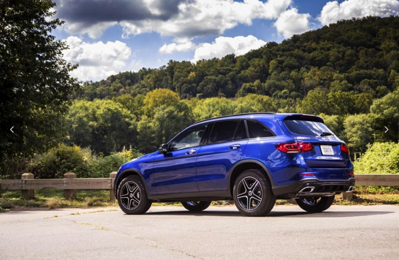 COURTESY MECEDES-BENZ USA - The SUV version of the 2020 Mercedes-Benz GLC 300 4MATIC is a practical hatchack. A four-door coupe version is also available.