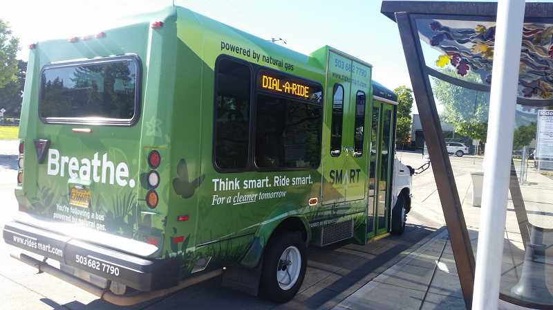 COURTESY PHOTO: CITY OF WILSONVILLE - A steering committee has been assessing ways to improve South Metro Area Regional Transit's (SMART) Dial-a-Ride program and presented findings to the Wilsonville City Council recently.