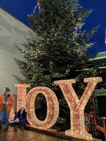 PMG FILE PHOTO: JOHN BAKER - Pictured is last year's tree at the annual tree lighting in Molalla. This year's lighting takes place Dec. 7 from 5-7 p.m.