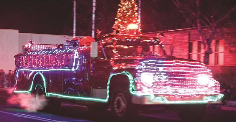 CENTRAL OREGONIAN - The Lighted Christmas Parade is one of three events that draw a crowd, kick off the local Christmas season.
