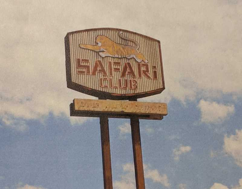 PMG FILE PHOTO - Community members can bid on the Estacada Safari Club sign. During the citys Christmas tree lighting ceremony, the top two bidders will be chosen.