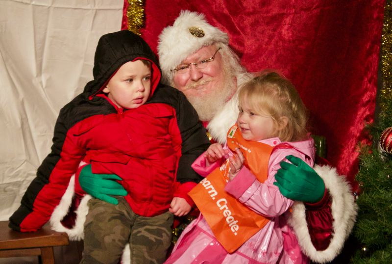 PMG FILE PHOTO - Santa Claus made Gresham one of his waystations because of the communitys kindness and Christmas spirit.