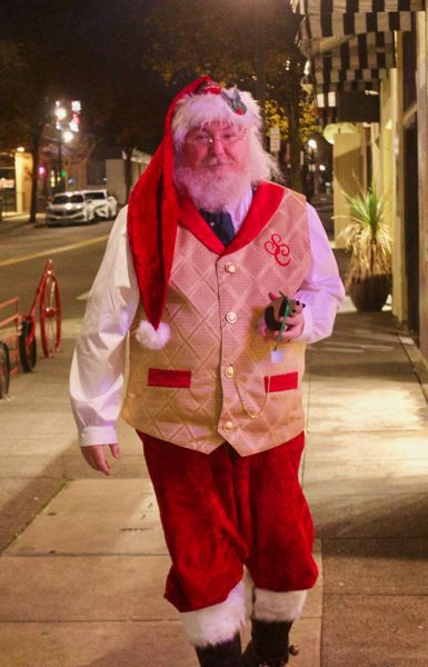 PMG PHOTO: CHRISTOPHER KEIZUR - For the last five years, Santa and Mrs. Claus have called Gresham a second-home.