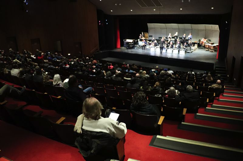 COURTESY PHOTO: MHCC MUSIC DEPARTMENT - The Symphonic and Chamber Choir and Symphonic and Jazz Band Concerts will be held in the MHCC College Theatre, 26000 S.E. Stark St.