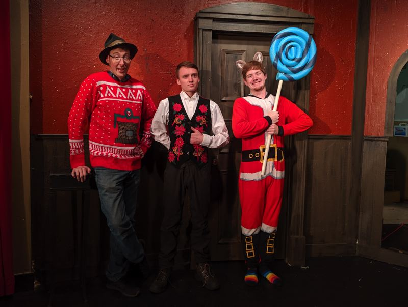COURTESY PHOTO - 'Every Christmas Story Ever Told' runs through Dec. 22 with shows at 7:30 p.m. Fridays and Saturdays and 3 p.m. on Sundays.