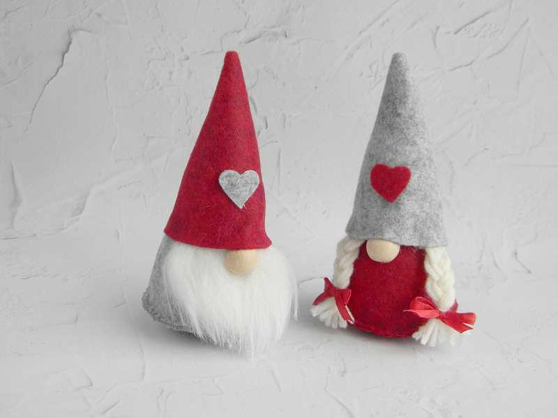 Nordic items, like these felt gnomes, are likely to be found at ScanFair taking place Dec. 7 and 8 at Portlands Veterans Memorial Coliseum. Nordic culture, food, clothing and crafts are available to purchase, plus lots of singing and dancing. It is fun for the whole family.