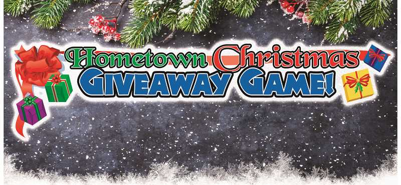 FILE PHOTO - The Hometown Christmas Giveaway Game is on now.