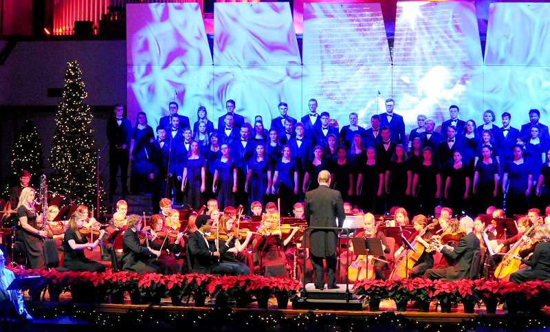 GRAPHIC FILE PHOTO - Bauman Auditorium on the campus of George Fox University will host the school's annual Christmas concert, 'Arise, Shine!', on Dec. 6-7.