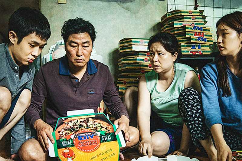 SUBMITTED PHOTO - Parasite follows the Kim family, a mismatched bunch making the best of their impoverished situation in South Korea.