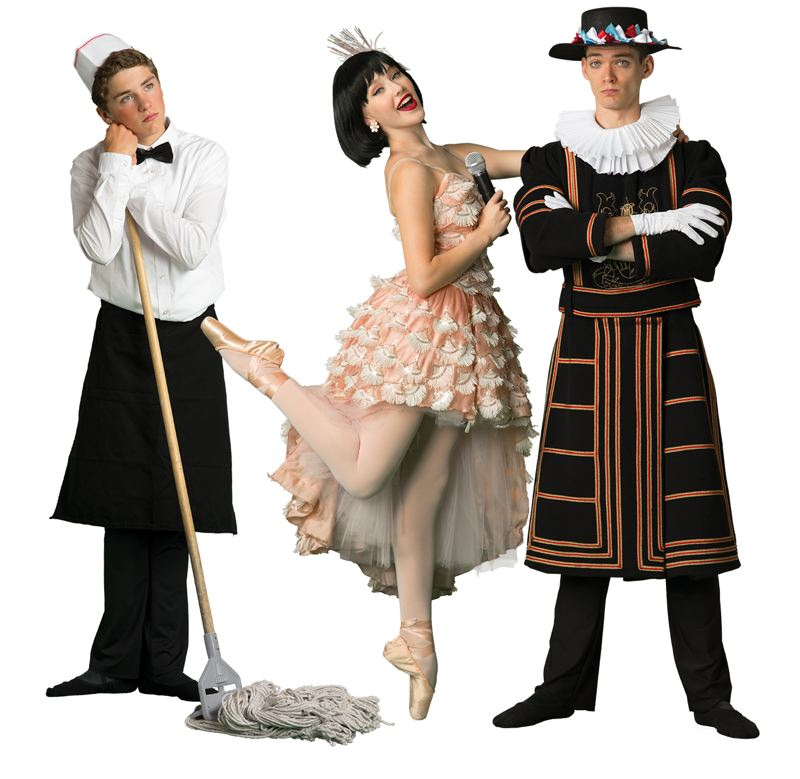 COURTESY PHOTO - The Portland Ballet will present the world premiere of Tom Gold's 'Petrushka,' 1 p.m. and 5 p.m. Nov. 29-Dec. 1 at Lincoln Performance Hall.