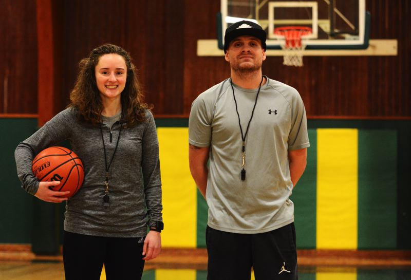 PMG PHOTO: DEREK WILEY - Valerie Wakefield and Jordan Nation are the new girls and boys basketball coaches at Colton High School.