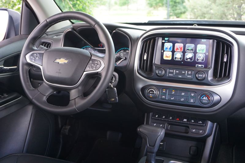 PMG PHOTO: JEFF ZURSCHMEIDE - The infotainment system in the 2019 Colorado ZR2 Bison is among the best ever offered by Chevy.