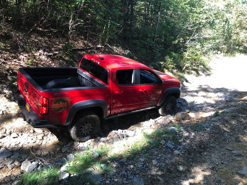 PMG PHOTO: JEFF ZURSCHMEIDE - The lined bed means the 2019 Chevrolet Colorado ZR2 Bison is also a good work truck.