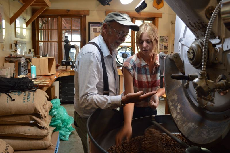 PHOTOS COURTESY: SISTERS COFFEE COMPANY - (Above) Sisters Coffee Company founder Winfield Durham and his daughter Jesse.