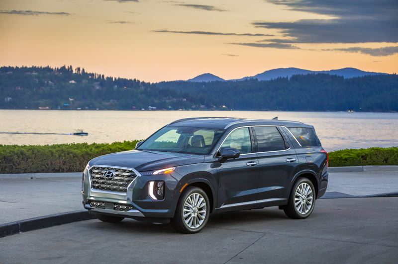 HYUNDAI MOTOR AMERICA - The 2020 Hyundai Palisade is a bold looking three-row SUV that offers great value, even in the top-of-the-line Limited AWD trim level.