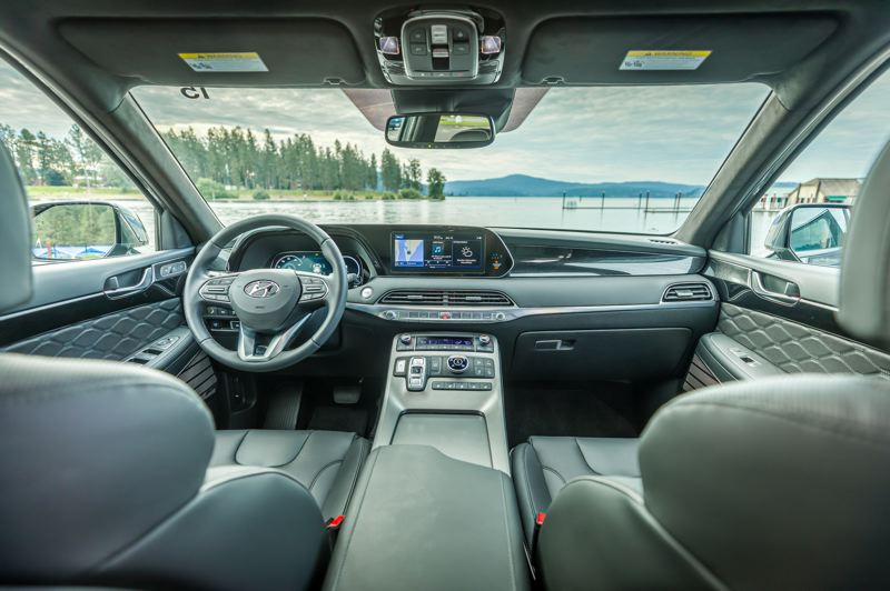 HYUNDAI MOTOR AMERICA - The interior of the 2020 Hyundai Palisade is well designed and comes standard with a long list of convenience, infortainment and safety features. The top-of-the-line Limited AWD version rival genuine luxury SUVs.
