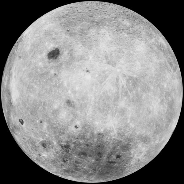 COURTESY PHOTO: NASA - The far side of the moon is among the images one can see during A Tourists Guide to the Moon presentation Tuesday, Dec. 6, and Friday, Dec. 6 .