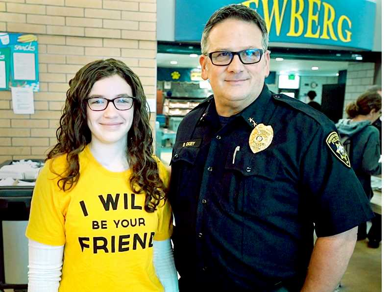 Police department, school district partner for anti-bullying campaign