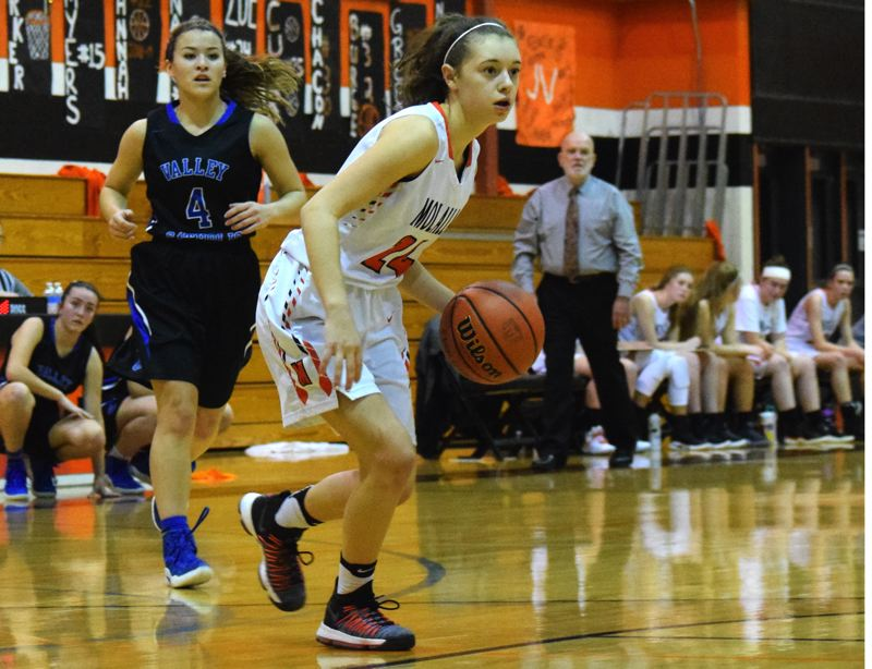 PMG FILE PHOTO - Junior Zoe Wood is one of three returning starters on Molalla's girls basketball team.