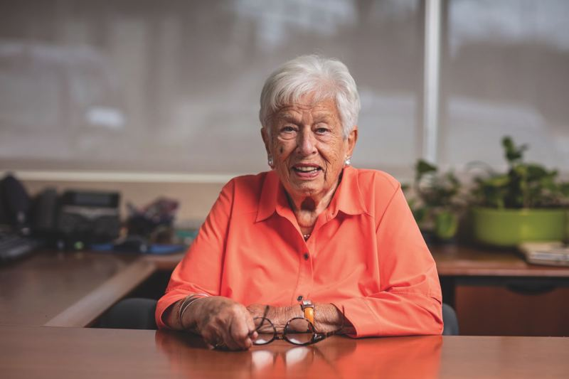 COURTESY PHOTO: GREATER PORTLAND INC. - Gert Boyle became an iconic Portland business leader, thanks to her role at Columbia Sportswear. A celebration of life is set for Thursday.