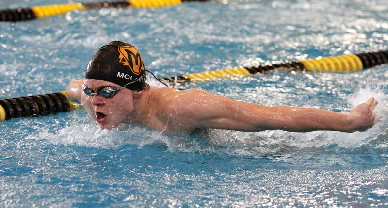 PMG FILE PHOTO - Molalla senior Linden Mackenzie is back after swimming in the state meet last season.