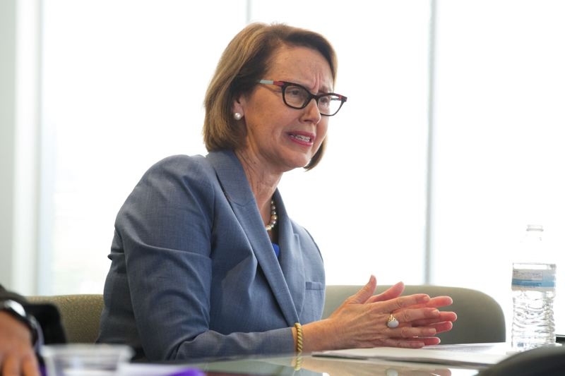 PMG FILE PHOTO - Oregon Attorney General Ellen Rosenblum is suing Johnson & Johnson for deceptively marketing surgical mesh devices.