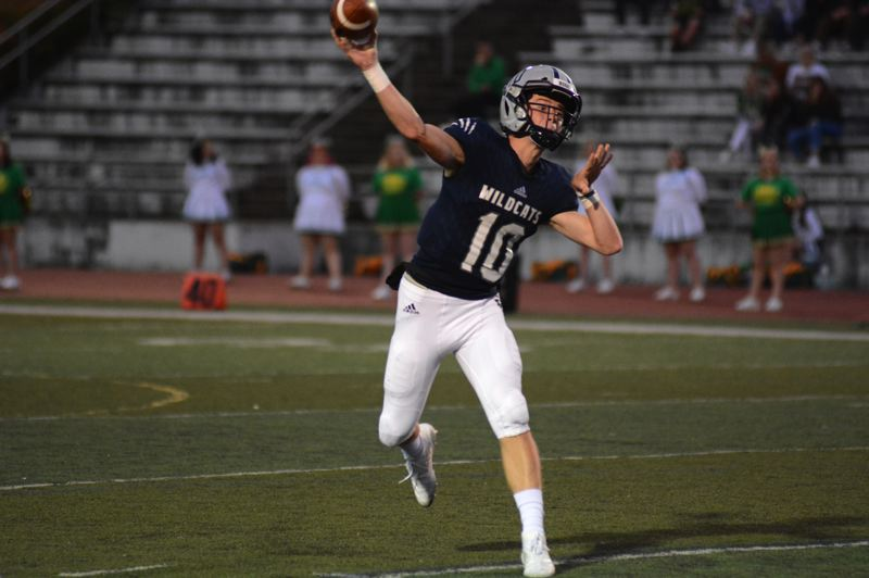 PMG PHOTO: DEREK WILEY - Jayce Knapp was voted the Class 5A Special District 1 West Offensive Player of the Year.