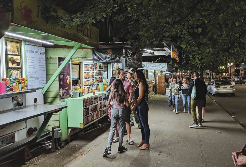 A moveable feast: Food carts roll with changes