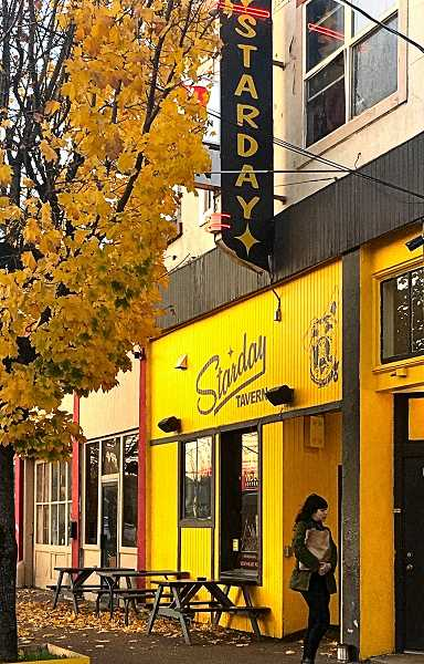 PAIGE WALLACE - The Starday Tavern, at S.E. 65th and Foster Road, is one of the local venues reviving old-school Country Music in Southeast Portland. Owner Justin Amrine considers his place a neighborhood bar, and he says many of the performers he hires live nearby.