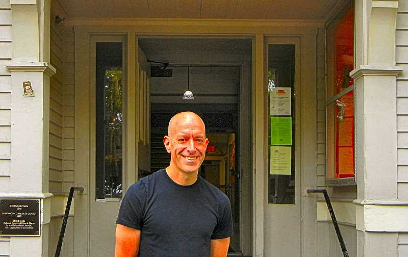 ELIZABETH USSHER GROFF - Woodstock resident Geoff Bergman formerly taught fitness at Mt. Scott Community Center, but now is instructing five days a week at the new Sellwood Community House.