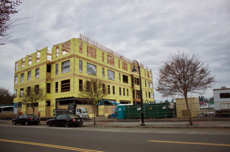 Rockwood Rising's 'Innovation Center' under construction