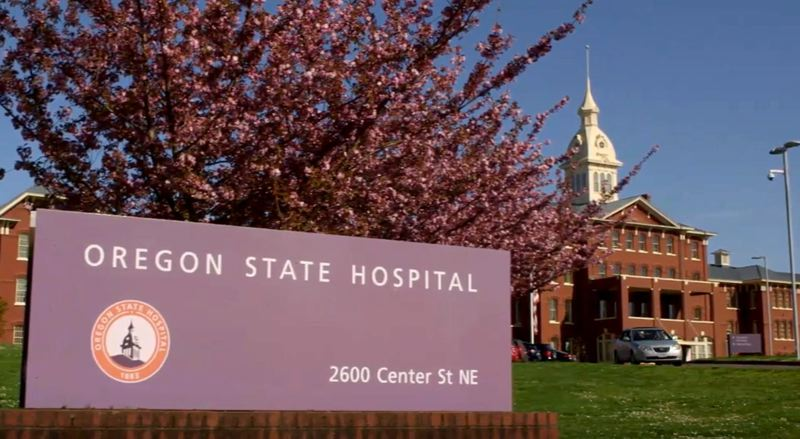 COURTESY PHOTO: STATE OF OREGON - Salem's Oregon State Hospital is supposed to deal with only the most dangerous aid-and-assist mental patients, under legislation adopted this year.