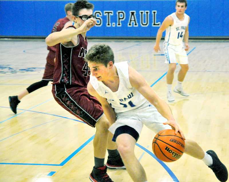 GRAPHIC FILE PHOTO - The St. Paul boys basketball team has a revamped roster comprised mostly of players who didn't see much varsity time last season.