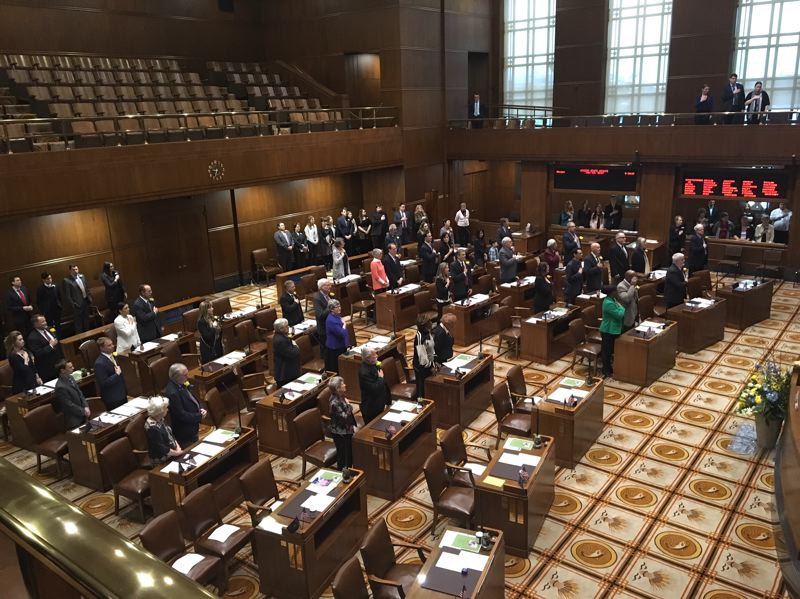 PMG FILE PHOTO - Lawmakers are lining up their priorities for the short 35-day legislative session that begins Feb. 3, 2020.