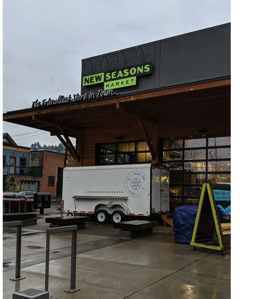 PAMPLIN MEDIA GROUP: JOSEPH GALLIVAN  - The southeast croner of the Slabtown New Seasons Market on Dec. 11, 2019. The Portland icon has been sold to a South Korean company by its private equity investor, Portland-based Endeavor Capital.