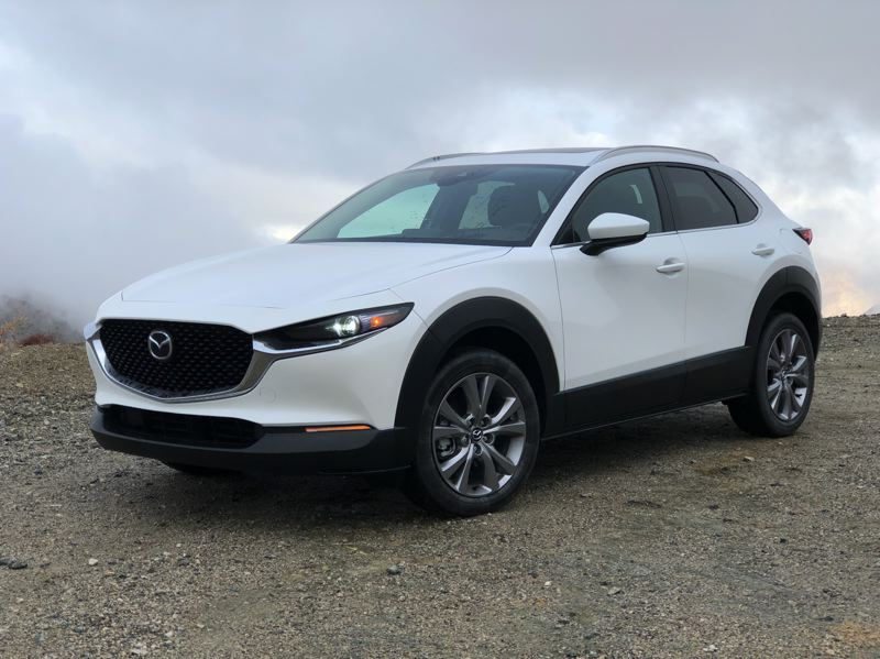 PMG PHOTO: JEFF ZURSCHMEIDE - The brand new 2020 Mazda CX-30 looks great and drives even better, with better performance and handling than most other affordable subcompact crossovers.