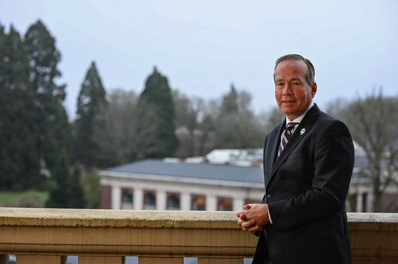 COURTESY PHOTO: THERESA HOGUE/OSU - F. King Alexander was named Friday, Dec. 13, as Oregon State University's new president. He takes the job July 1, 2020.