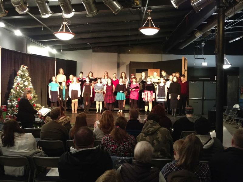 COURTESY PHOTO: SALT ACADEMY - The SALT Academys annual Friends and Family Christmas Concert on Tuesday, Dec. 17, will provide a 90-minute program of Christmas songs in solo, duet and ensemble choir configurations