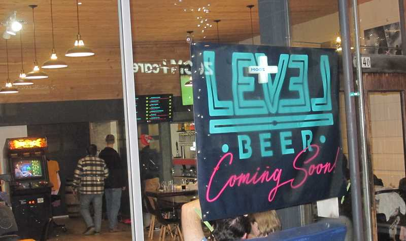 PMG PHOTO: BILL GALLAGHER - Level Beer has been open on weekends pending full licensing. Seen here on Saturday, December 14 about 6 p.m.