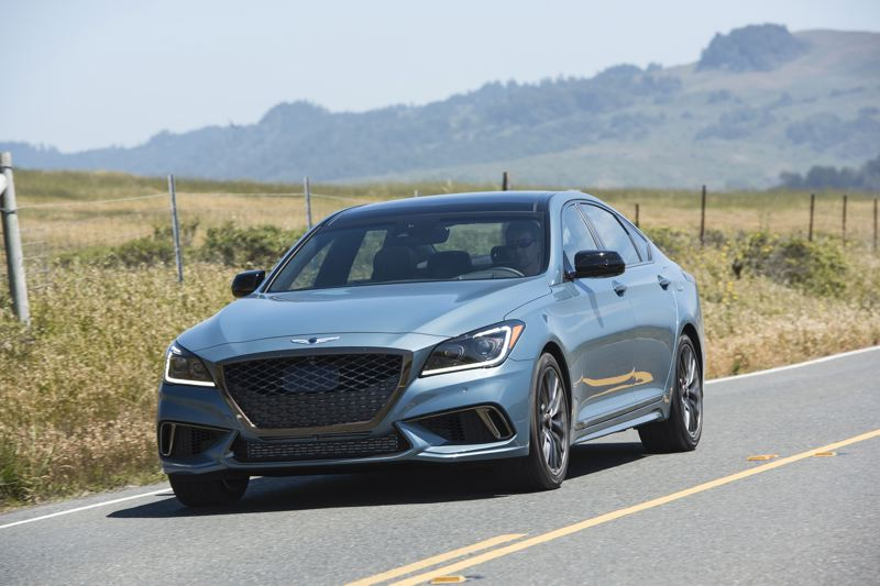 COURTESY GENESIS - The Genesis G80 AWD 3.3T Sport is everything a premium sport sedan should be for a lot less money than you think.
