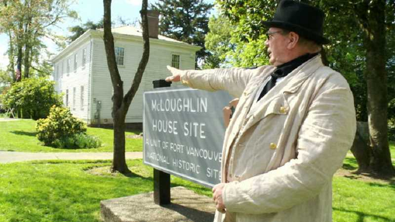 COURTESY PHOTO: NATIONAL PARKS SERVICE - Volunteer Richard Matthews is a tour guide at the McLoughlin House in Oregon City. In 2020, the house will be closed for a major rehabilitation.