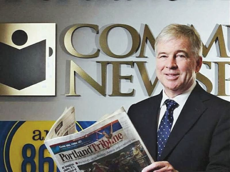 PMG FILE PHOTO - 'We are asking readers to help fill a void by either subscribing, if they have not before, or by expanding their subscriptions to include online access to all Pamplin websites. Go to www.savinglocalnews.com for details.' - Pamplin Media Group President Mark Garber