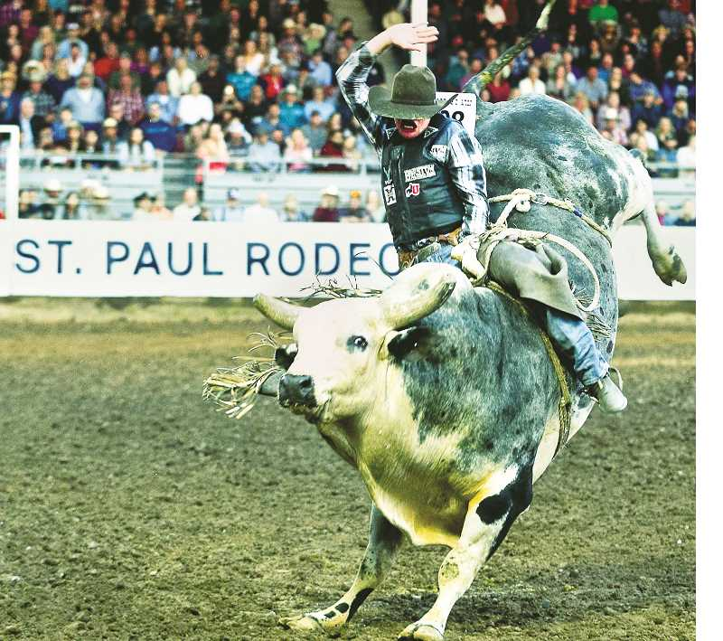 While its more than seven months until the St. Paul Rodeo grounds erupt with action again, it should be noted that more than 50,000 people attended the annual spectacle in 2019, making it a popular event in the area and one worth planning for.Photo courtesy of Kent Soule