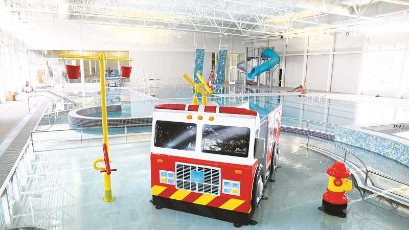 GRAPHIC FILE PHOTO - The recreation section of the Chehalem Aquatic Center will be abuzz with activities during theholidays in Newberg.