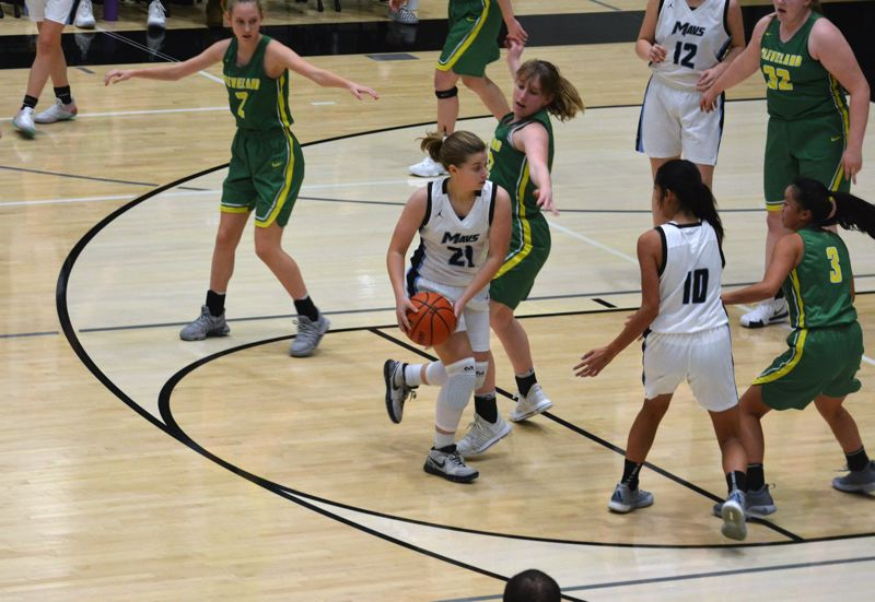 TIMES FILE PHOTO - Mountainiside sophomore shooting guard Taylor Smith and the Mavericks have big expectations this season.