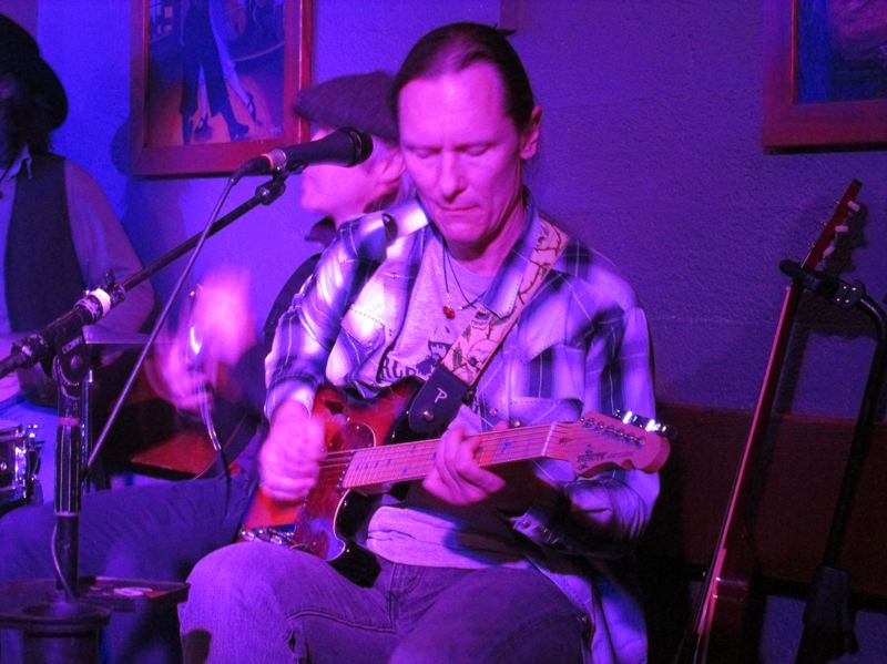 COURTESY PHOTO: MICHAEL BERLY - Portland singer, songwriter and guitarist Michael Berly will perform with members of The Old Yellers, Yellers and who knows who at his monthly gig at McMenamins Edgefield Winery Tasting Room. See listing for details.