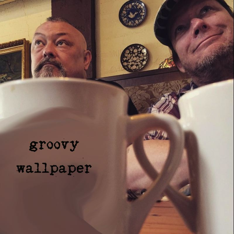 COURTESY PHOTO: GROOVY WALLPAPER - Percussionist and pianist Don Henson, left, and cellist/vocatlist Skip vonKuske comprise Groovy Wallpaper, a Portland duo that brings its uniquely skewed musical sensibility to McMenamins Edgefield on Monday evenings.